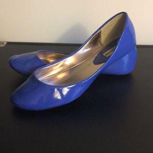 Blue Steve Madden Flats